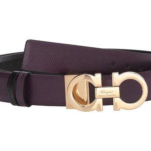 { Salvatore Ferragamo } Gancini Reversible Belt